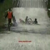 BMX Kids Get Into Funny Crash